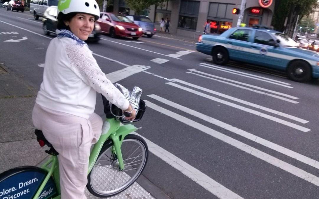 Seattle e o uso de capacete