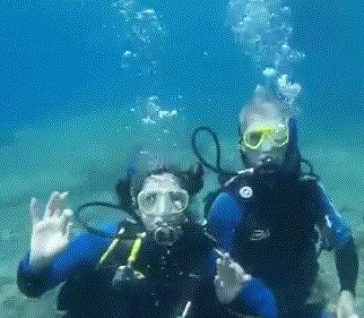 Curso de Mergulho em águas abertas